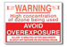 "Sign ""Ozone Caution"" – 50-pack"